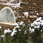 Oude raam